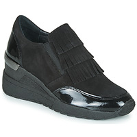 Schoenen Dames Derby Myma  Zwart