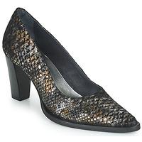 Schoenen Dames pumps Myma  Zwart / Goud