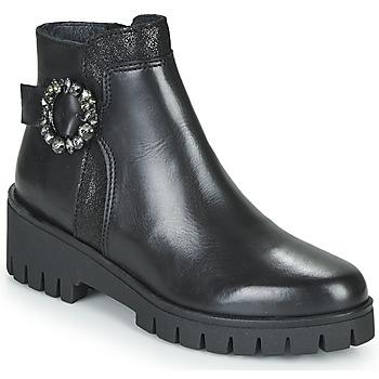 Schoenen Dames Laarzen Myma  Zwart