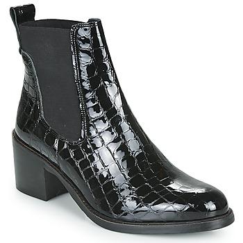 Schoenen Dames Enkellaarzen Myma KIOLI Zwart