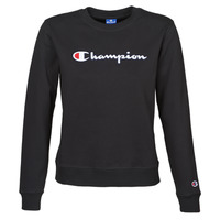 Textiel Dames Sweaters / Sweatshirts Champion HEAVY COMBED COTTON FLEECE Zwart