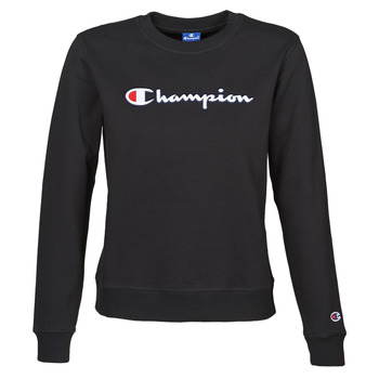 Textiel Dames Sweaters / Sweatshirts Champion HEAVY COMBED COTTON FLEECE Zwart