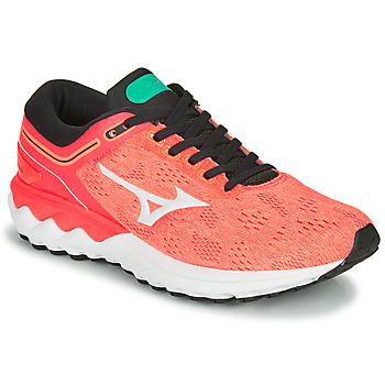 Schoenen Dames Running / trail Mizuno WAVE SKY RISE Koraal