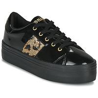 Schoenen Dames Lage sneakers No Name PLATO M DERBY Zwart