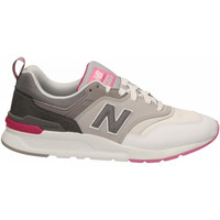 Schoenen Dames Lage sneakers New Balance NB LIFESTYLE LEATHER/STNTHETIC/MESH white-pink