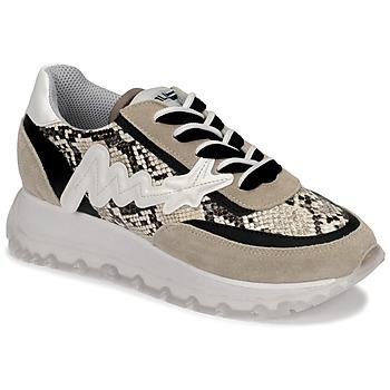 Schoenen Dames Hoge sneakers Meline TRO1700 Beige / Slang