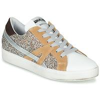 Schoenen Dames Lage sneakers Meline IN1344 Wit / Beige / Goud