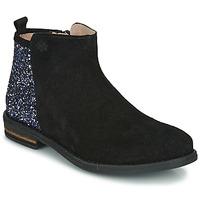 Schoenen Meisjes Laarzen Acebo's 8035-NEGRO-J Zwart