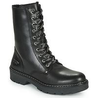 Schoenen Meisjes Laarzen Bullboxer AON523E6L-BKGY Zwart