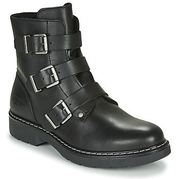 Schoenen Meisjes Laarzen Bullboxer AOL520E6L-BLCK Zwart