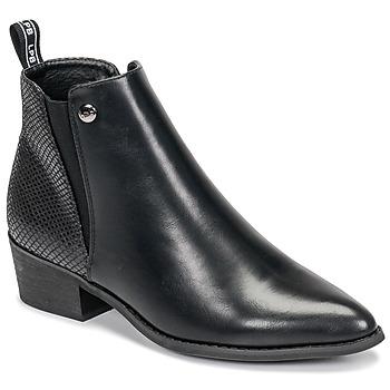 Schoenen Dames Laarzen Les Petites Bombes ANTONELLA Zwart