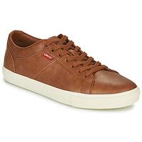 Schoenen Heren Lage sneakers Levi's WOODWARD Bruin