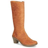 Schoenen Dames Hoge laarzen Art ALFAMA Bruin