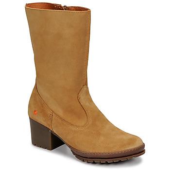 Schoenen Dames Hoge laarzen Art CAMDEN Bruin