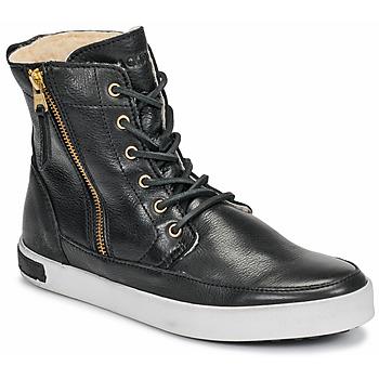 Schoenen Dames Hoge sneakers Blackstone CW96 Zwart