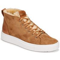 Schoenen Dames Hoge sneakers Blackstone QL48 Bruin