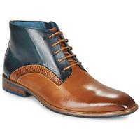 Schoenen Heren Laarzen Kdopa HARRIS Cognac / Blauw
