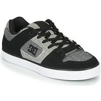 Schoenen Heren Lage sneakers DC Shoes PURE Zwart / Grijs