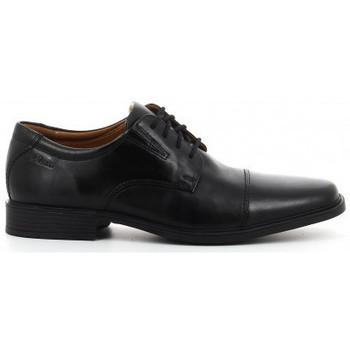 Schoenen Heren Derby Clarks TILDEN CAP negro Noir