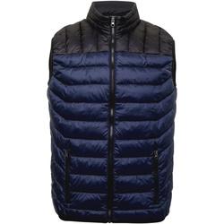 Textiel Heren Dons gevoerde jassen 2786 TS028 Marine / Zwart