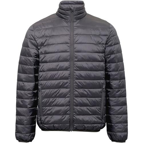 Textiel Heren Dons gevoerde jassen 2786 TS030 Staal