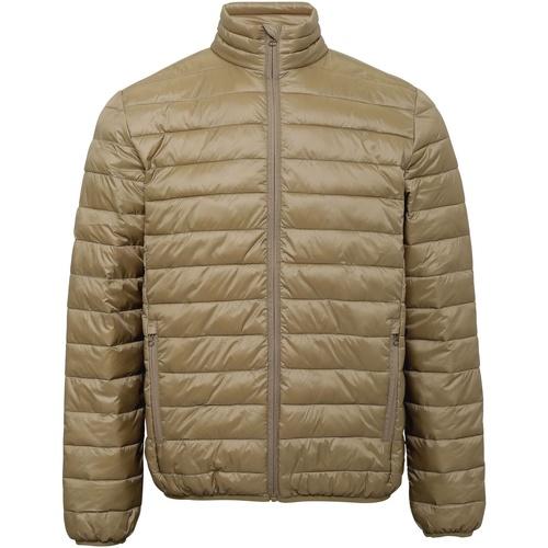 Textiel Heren Dons gevoerde jassen 2786 TS030 Khaki