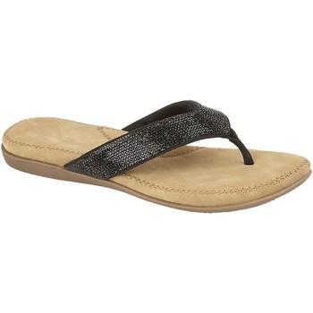 Schoenen Dames Teenslippers Cipriata  Zwart