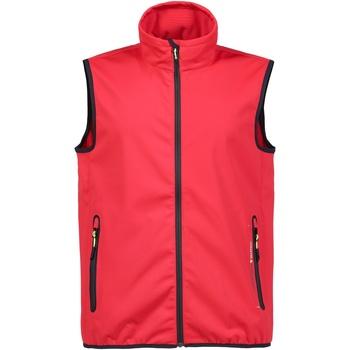 Textiel Heren Vesten / Cardigans Musto MU053 Echt rood