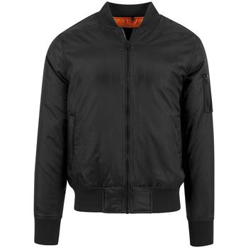 Textiel Heren Wind jackets Build Your Brand BY030 Zwart