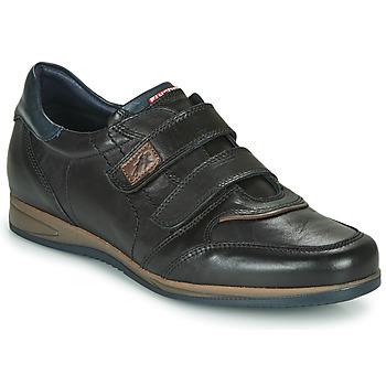 Schoenen Heren Lage sneakers Fluchos DANIEL Zwart