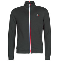 Textiel Heren Trainings jassen Le Coq Sportif ESS FZ SWEAT N°2 M Zwart