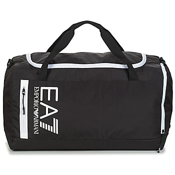 Tassen Sporttas Emporio Armani EA7 TRAIN CORE U GYM BAG Zwart / Wit