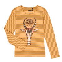 Textiel Meisjes T-shirts met lange mouwen Ikks XR10102 Bruin