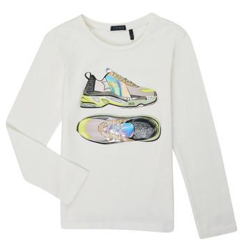 Textiel Meisjes T-shirts met lange mouwen Ikks XR10172 Wit