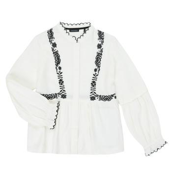Textiel Meisjes Overhemden Ikks XR12022 Wit