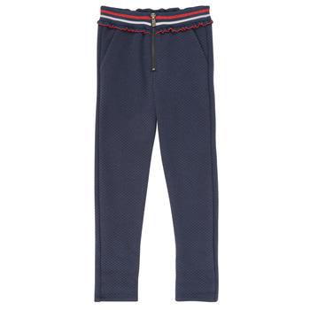 Textiel Meisjes 5 zakken broeken Ikks XR23002 Blauw