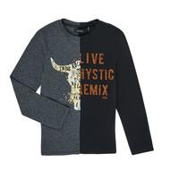 Textiel Jongens T-shirts met lange mouwen Ikks XR10143 Grijs
