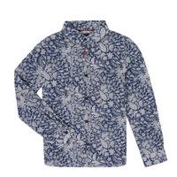 Textiel Jongens Overhemden lange mouwen Ikks XR12023 Blauw