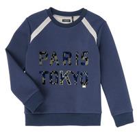Textiel Jongens Sweaters / Sweatshirts Ikks XR15093 Blauw