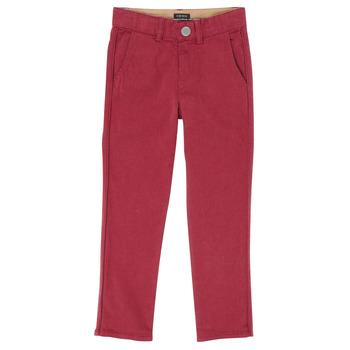 Textiel Jongens 5 zakken broeken Ikks XR22093J Rood