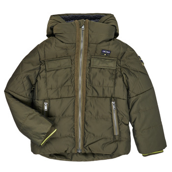 Textiel Jongens Dons gevoerde jassen Ikks XR41123 Bruin