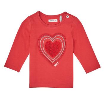 Textiel Meisjes T-shirts met lange mouwen Ikks XR10010 Oranje