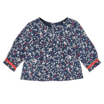 Textiel Meisjes Overhemden Ikks XR12010 Blauw