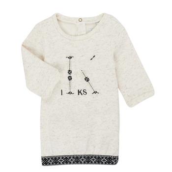 Textiel Meisjes Korte jurken Ikks XR30180 Beige