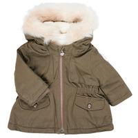Textiel Meisjes Parka jassen Ikks XR42020 Kaki