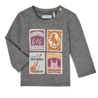 Textiel Jongens T-shirts met lange mouwen Ikks XR10081 Grijs