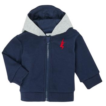 Textiel Jongens Vesten / Cardigans Ikks XR17001 Blauw