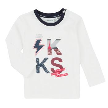 Textiel Jongens Setjes Ikks XR36001 Wit