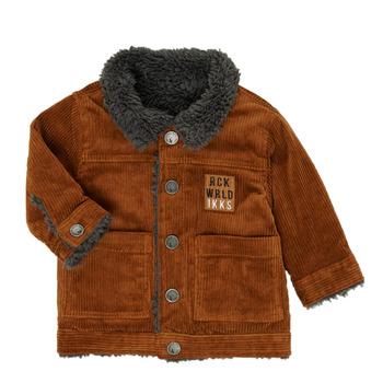 Textiel Jongens Wind jackets Ikks XR40051 Bruin
