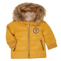 Textiel Jongens Dons gevoerde jassen Ikks XR41021 Geel